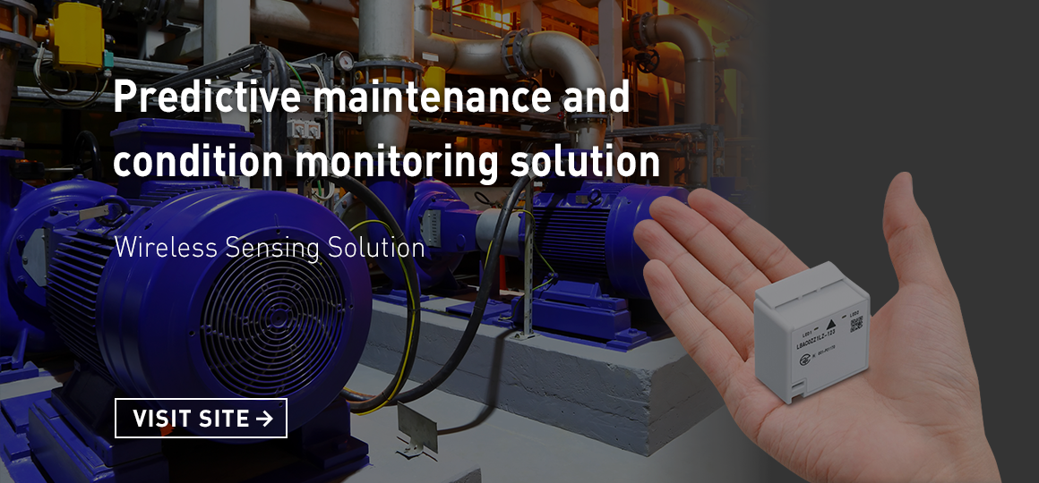 Predictive maintenance and condition monitoring solution VISIT SITE